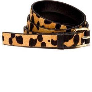 NWOT The Limited Cheetah/ Leopard Print Belt